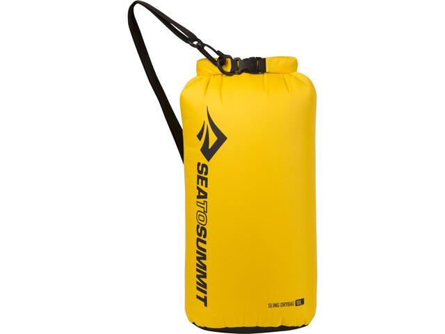 Sea to Summit Lightweight Sling Dry Bag 10l, geel